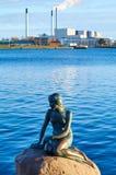 Little Mermaid Statue, Copenhagen, Denmark. Little Mermaid Statue in Copenhagen, Denmark royalty free stock photography