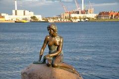 The little mermaid statue in Copenhagen Royalty Free Stock Image