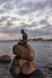 The little mermaid statue Stock Images