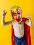 Little mexican wrestler Stock Photography