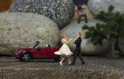 Little world wedding photography royalty free stock image