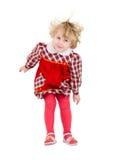 Little mischievous girl Stock Photo