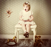 Little Miss Muffet Stock Image