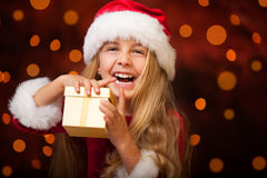 Little miss santa Royalty Free Stock Photo