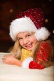 little missa santa Fotografering för Bildbyråer