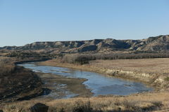 Little Missouri river Royalty Free Stock Photography