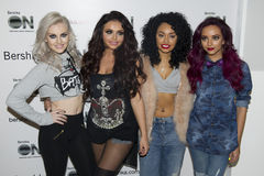 Little Mix. At the Bershka Flagship Store Launch Party, Oxford Street, London. 14/11/2012 Picture by: Simon Burchell / Featureflash royalty free stock photo