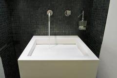 Little modern bathroom Royalty Free Stock Photography