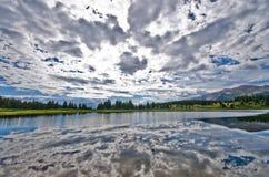 Little Molas Lake in the San Juan Mountains in Colorado Stock Photos