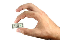 Little money Stock Images