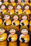 Little monk dolls Royalty Free Stock Photos