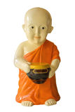 Little monk statue Stock Photo