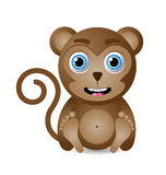 Little Monkey Royalty Free Stock Image