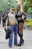 Little Monsters Lady Gaga Fans in Central Park Stock Photos
