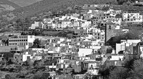 Little Moorish village Stock Image