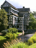 Little Moreton Hall - England Arkivbilder