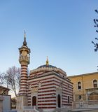 Little mosque in Istanbul, Turkey stock photo