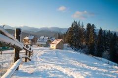 Little mountain village Royalty Free Stock Image