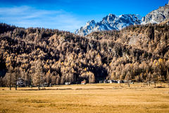 Little mountain village Ossola Valley Royalty Free Stock Image