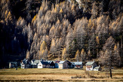 Little mountain village Ossola Valley Stock Photos