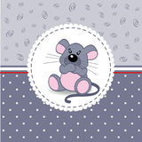 Little mouse baby Royalty Free Stock Photo