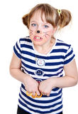 Little mouse girl Royalty Free Stock Photography