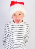 Little mr santa Stock Image