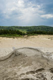 Little mud volcano Royalty Free Stock Images