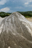 Little mud volcano texture Royalty Free Stock Photography