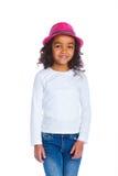 Little mulatto girl Royalty Free Stock Photos