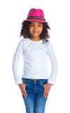 Little mulatto girl Royalty Free Stock Images