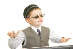 Little musician Royalty Free Stock Photography