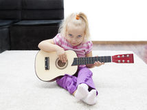 Little musician Royalty Free Stock Photo