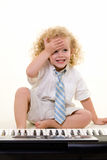 Little musician Royalty Free Stock Image