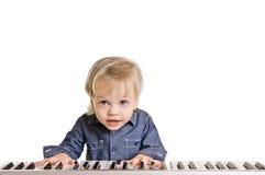 Little musicman Stock Photos