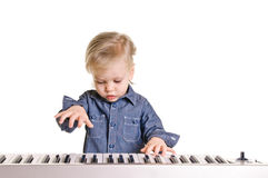 Little musicman Royalty Free Stock Photography