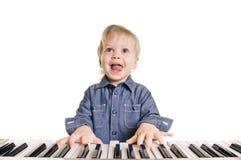 Little musicman Stock Photo