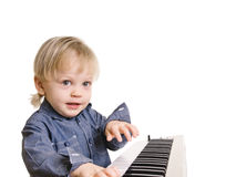 Little musicman Royalty Free Stock Images