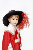 Little musketeer. Stock Photos