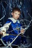 Little musketeer with sword Royalty Free Stock Photos