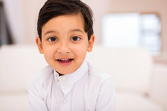 Little muslim boy Royalty Free Stock Image