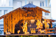 Little Nativity Scene Stock Photos