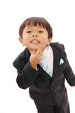 Little Negotiator Stock Image
