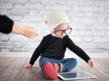 Little nerd Stock Photography