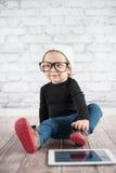 Little nerd Royalty Free Stock Photos
