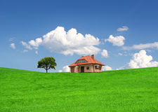 Little new house Stock Photography