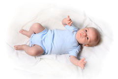 Little newborn baby boy Royalty Free Stock Images