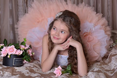 Little nice girl Royalty Free Stock Image