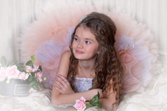 Little nice girl Royalty Free Stock Photography
