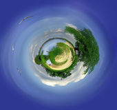 Little nice planet Stock Photos